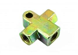Тройник тормозной 2101-2107, 2121-21214 железный Самара