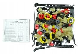 Ремкомплект кузова 2108, 2109, 21099 (хомуты, пистоны, скобы, держатели)