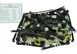 Ремкомплект кузова 2123 (хомуты, пистоны, скобы, держатели)