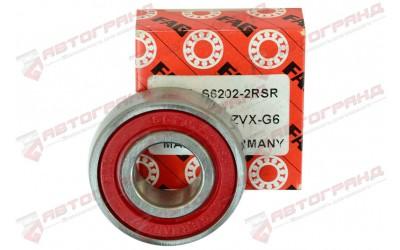 Подшипник генератора 2110-2112 со стороны выпрямителя (малый) (15*35*11) FAG