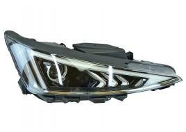 Фара Hyundai Elantra 6 AD (2018-2020) рестайл галоген линзованная ДХО (LED) ручной корректор правая