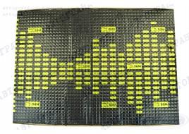 Виброизоляция 700х500 3,0мм SGM Aльфа 3