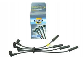 Провода высоковольтные 2110-2112, 2113-2115  (инжек. 8 кл. 1.6) силикон (бронепровода) SLON