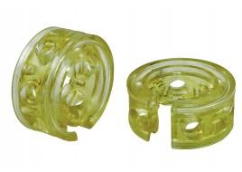 Подушка пружины (автобаферы) (межвитковая вставка) 60 мм (силикон) (к-кт 2 шт)