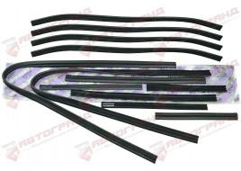 Уплотнитель стекол 2105, 2107 (бархотка) (к-кт 12 шт) ПТИМАШ