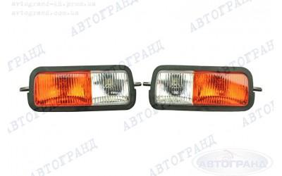 Подфарники 21214 передние (оранжевое стекло) без гравировки (к-кт 2 шт) АВТОГРАНД
