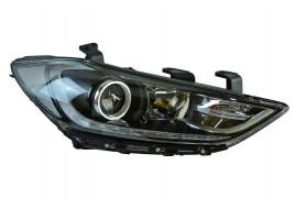Фара правая Hyundai Elantra 6 AD (2016-2018) светодиодные ДХО (LED)