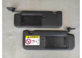 Козырьки противосолнечные Mitsubishi Outlander 3 PHEV 2.4 G (2013-нв) левый+правый оригинал б/у