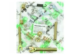 Ремкомплект задних колодок Aveo Т200, T250 правый GROG