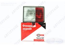 Фонарь задний 2110, 2112 внутренний левый квадрат с уплотнительной прокладкой АвтоВАЗ