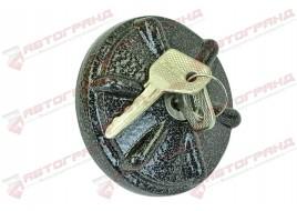 Крышка топливного бака 2101-2107, 2121-21214, 1102 с ключом (металл) легк (крышка бензобака) Украина
