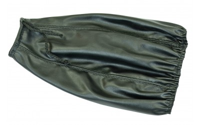Кожух рычага переключения передач 2108-21099 кожзам (мягкий) черный