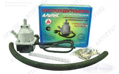 Электроподогреватель предпусковой  2 КВ Газель 405-406 (с мотором) АЛЬЯНС