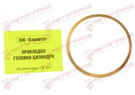 Прокладка головки цилиндра Планета медь Украина