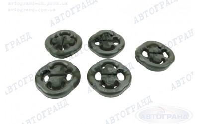 Ремкомплект подвески глушителя 2108, 2109, 21099, 2110-2115 (пряник) (к-кт 5 шт) БРТ