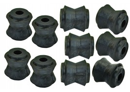 Сайлентблок реактивных тяг 2121 резиновые (большие) (к-кт 10 шт) ПТИМАШ