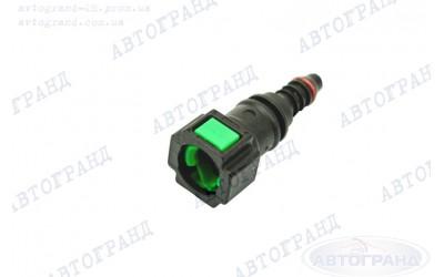 Разъем топливной трубки 21082-21099, 2110-2170 прямой (пластиковый фиксатор) инжектор