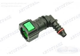 Разъем топливной трубки 21082-21099, 2110-2170  угловой инжектор