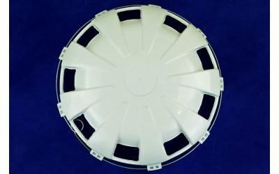 Ковпак колісний пластик задній універсальний R22.5 білий