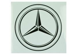 Наклейка люмінесцентна D100MM з логотипом MERCEDES-BENZ