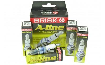 Свечи зажигания 2101-2107, 2108-21099, 2110-2112, 2121 A-LINE 4 (8 кл) 21 (к-кт 4 шт) BRISK