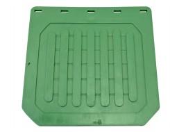 Брызговик резиновый (фартук) УАЗ 452 задний (серия СПОРТ) зеленый 300*300  / 451Д-5107310