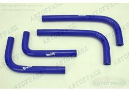 Патрубки системы отопителя ГАЗ 3302 (402 дв) силикон (патрубки печки) (к-кт 4 шт) ТехноПартнер