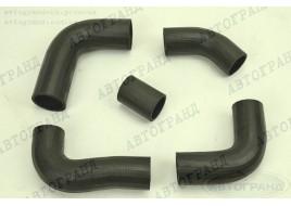 Патрубки системы охлаждения ГАЗ 3302 (406 дв) (патрубки радиатора) (к-кт 5 шт) Балаково
