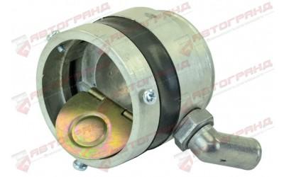 Смеситель ВАЗ инжектор с противоударным клапаном (вход - уголовой алюминиевый правый) НЗГА