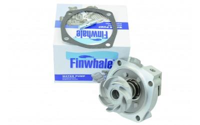 Насос водяной 2101-2107, 2121-21214 алюминиевая крыльчатка в сборе (помпа) Finwhale