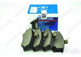 Колодки тормозные 2110, 2111, 2112 передние (к-кт 4 шт) АвтоВАЗ