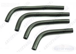 Патрубки системы отопителя ГАЗ 3302 (402 дв) (патрубки печки) (к-кт 4 шт) Балаково