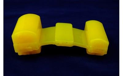 Подушка рессоры УАЗ 452 полиуретан желтый