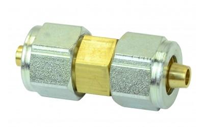 Соединитель 8-8 мм для ПВХ трубки в сборе GOMET