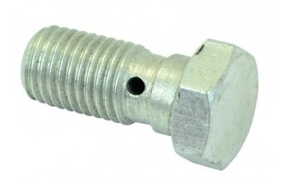 Болт переднего тормозного шланга 2101-2107 с отверстием (М10х21х1,25) Россия