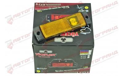 Фонарь боковой габаритный диод LED желтый без кронштейна