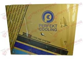 Радиатор с рамой 1739550 1674136 DAF XF105  з 05-