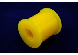 Втулка штанги заднего стабилизатора ГАЗ 3302, 2705 (круглая) полиуретан желтый