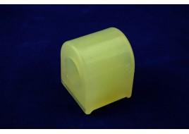 Подушка штанги стабилизатора УАЗ 3160 средняя полиуретан желтый d-24 Липецк