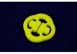 Подушка подвески глушителя 2108, 2113-2115, 2170, Ланос, 412 (пряник) полиуретан желтый