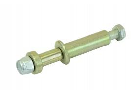 Болт амортизатора 2101-2107 заднего (втулка неразрезная 20мм, 2 шайбы, гайка) (М12Х1,25Х140) БелЗАН