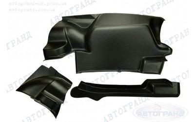 Обивка багажника 2105, 2107 (пластик) (усиленная) (к-кт 3 шт)
