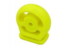 Подушка подвески глушителя 21213 (пряник) полиуретан желтый