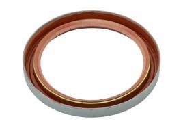 Сальник коленчатого вала 2101-2107, 2121 задний (красный) (70*90*10) ПТИМАШ