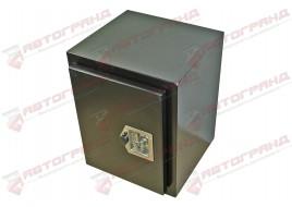 Ящик для инструмента грузовой метал 450X500X450 (замок уплотнитель цепочка)