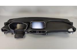 Панель приборов Hyundai Santa Fe 4 2.2 D верхняя часть в сборе (84710S1000NNB) (2018-нв) оригинал б/у