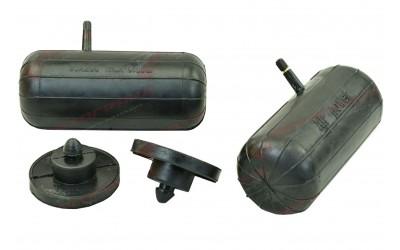 Пневмоподушка в пружину 2101-2107 задняя 85*200 (2 подушки+2 отбойника) вентель сбоку