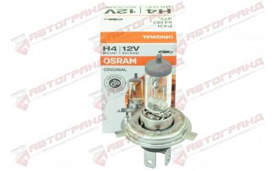 Лампа галогенная 12v Н4 P43t 60/55W OSRAM