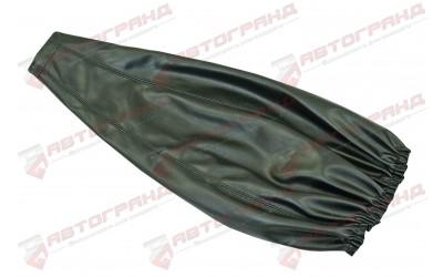 Кожух рычага переключения передач 2101-2107 кожзам (мягкий) черный