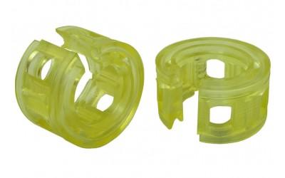 Подушка пружины (автобаферы) (межвитковая вставка) 80 мм (силикон) (к-кт 2 шт)